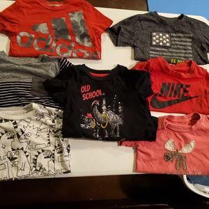 Short sleeve 2-3t shirt bundle (8)